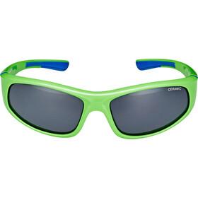 Alpina Flexxy Glasses Kinder neon green-blue
